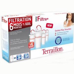 Pack de 4 cartouches filtrantes Easy Filtra+