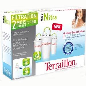 Pack de 3 cartouches filtrantes Easy Nitra+
