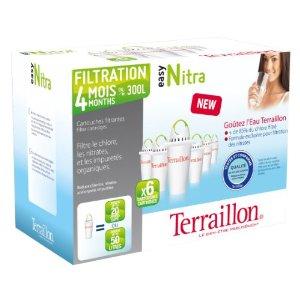 Pack de 6 cartouches filtrantes Easy Nitra+