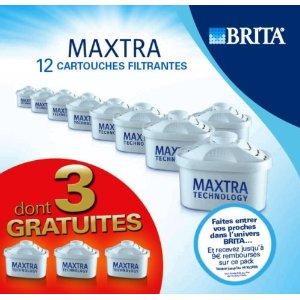 Cartouche filtrante Maxtra - Pack 12