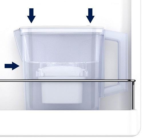Carafe filtrante Aqua Optima - Compact